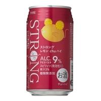 【ケース販売】ストロングレモン chuハイ 350ml×24本