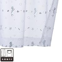 レースカーテン アリエル 100×108 2枚組【別送品】