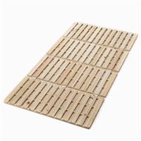 布団が干せる ひのきスノコ 四つ折 マットレス シングル 97×200×2.2