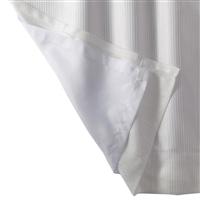 汚れやカビがつきにくく外から見えにくい裏地ボイルカーテン 105×128cm 1枚入 レースカーテン