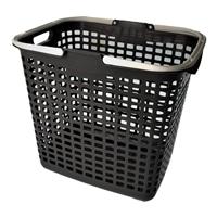 ランドリーバスケット  L型 グレー