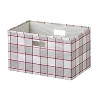【数量限定】持ち運びしやすい折りたたみ収納ボックス ブロック ベージュ