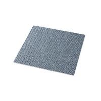 【店舗取り置き限定】防ダニ・防炎・防音 厚手タイルカーペット 40×40 ブルー
