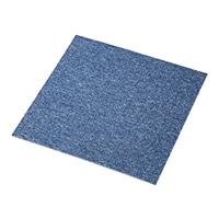 【店舗取り置き限定】タイルカーペット 40×40 プレイン/ブルー