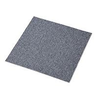【店舗限定】タイルカーペット 40×40 ストライプ/グレー