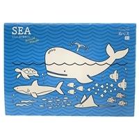 塗り絵SEA なかよし海の動物たちB5