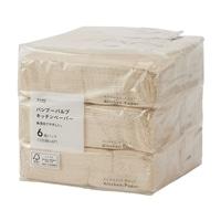 CAINZ バンブーパルプ キッチンペーパー 100組×6個パック