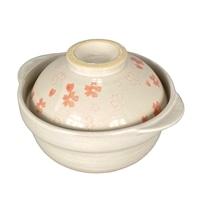 【2020秋冬】蓋がお茶碗になる土鍋 さくら 5号