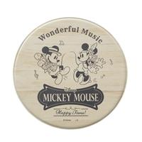 防炎・抗菌 サッと拭けるPVCマット ミッキーマウス/ベージュ
