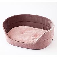 【2020秋冬】丸型ベッド ニットピンク 3L