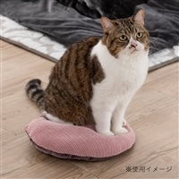 【2020秋冬】猫用クッション ニットピンク