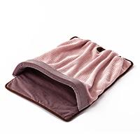 【2020秋冬】寝袋ベッド ニットピンク