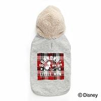 【数量限定・2020秋冬】ボアパーカー ミッキーマウス グレー Sサイズ