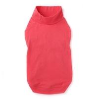 【2021春夏】ハイネックインナーウェア ピンク Lサイズ ペット服(犬の服)