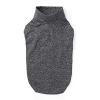 【2021春夏・数量限定】ハイネックインナーウェア ブラック Lサイズ ペット服(犬の服)