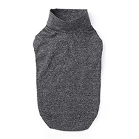 【数量限定・2021春夏】ハイネックインナーウェア ブラック SDサイズ ペット服(犬の服)