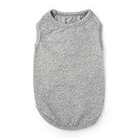 【数量限定・2021春夏】タンクトップインナーウェア グレー Mサイズ ペット服(犬の服)