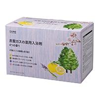 カインズ 炭酸ガスの薬用入浴剤 40g×20錠 4つの香り(ゆず・森・ラベンダー・桜)