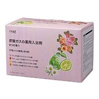 カインズ 炭酸ガスの薬用入浴剤 40g×20錠 4つの香り(ローズ・チャームローズ・カモミール・ベルガモット)