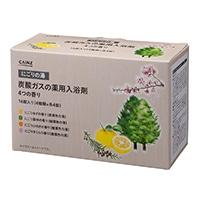 カインズ 炭酸ガスの薬用入浴剤 にごりの湯 40g×16錠 4つの香り(ゆず・森林・ひのき・さくら)