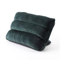 【数量限定】枕にもなる背もたれイス Lepoco ダークグリーン