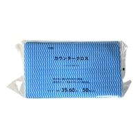 カウンタークロス 35×60cm 50枚入 ブルー