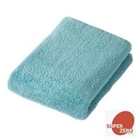洗濯してもふんわり長持ちバスタオル ブルー