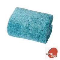 洗濯してもふんわり長持ちミニバスタオル ブルー