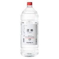 カインズ焼酎 25度 匠粋 4000ml【別送品】