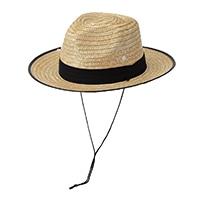 紳士麦わら帽子(消臭糸使用) カーボーイ ネイビー