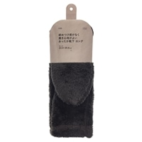 【2020秋冬】締めつけ感がなく 履き心地がよい あったか靴下 ロング 23.0-25.0cm ブラウン