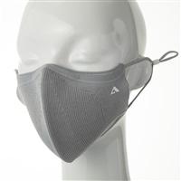 抗ウイルスニットマスク ライトグレー M/L