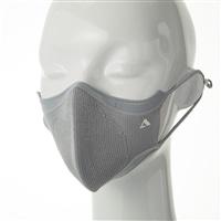 抗ウイルスニットマスク ライトグレー S