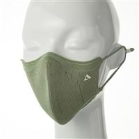 抗ウイルスニットマスク カーキ S