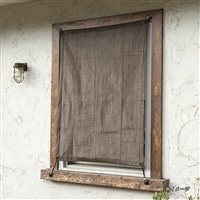 【2021春夏】日よけ 小窓用サンセイルシェード  ブラウン 90×120cm