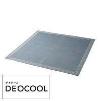 【2021春夏】デオクールラグ ヴェントス 185×185cm ブルー/グレー