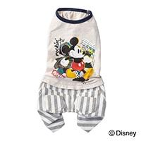 【2021春夏】ズボン付ミッキーマウス MDサイズ ペット服(犬の服)