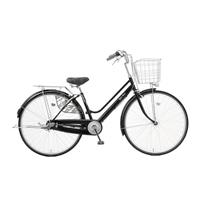【店舗限定】【自転車】キラリ KiLaLi パンクしにくい軽快車 27インチ 内装3段 オートライト ブラック