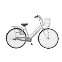 【店舗限定】【自転車】キラリ KiLaLi パンクしにくい軽快車 27インチ 内装3段 オートライト シルバー