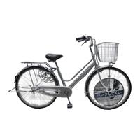【店舗限定】【自転車】キラリ KiLaLi パンクしにくい軽快車 26インチ 内装3段 オートライト シルバー