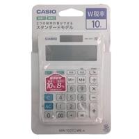 カシオ W税率電卓 MW-100TC-WE-N