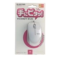 エレコム 3ボタン有線マウス M-BL27UB ホワイト