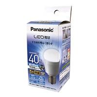 パナソニック LED電球 下方向タイプ 40W相当・昼光色相当 LDA4DHE17ESW2