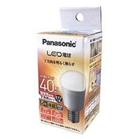 パナソニック LED電球 下方向タイプ 40W相当・電球色相当 LDA4LHE17ESW2