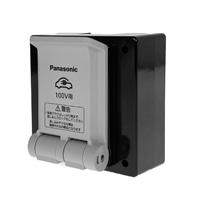 パナ EV充電用接地コンセント WK39015K