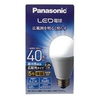 パナソニック LED電球 40形 昼光色相当 LDA4DGEW