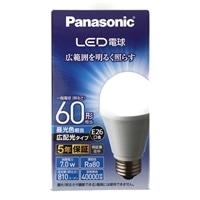 パナソニック LED電球 60形 昼光色相当 LDA7DGEW