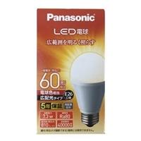 パナソニック LED電球 60形 電球色相当 LDA7LGEW