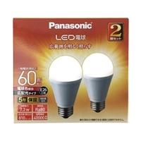 パナソニック LED電球 60形 電球色相当 2個セット LDA7LGEW2T