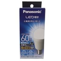 パナソニック LED電球 6.9W 昼光色相当 LDA7DGE17ESW